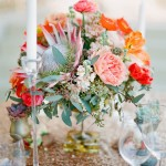 wedding centerpieces,Gorgeous spring flower display