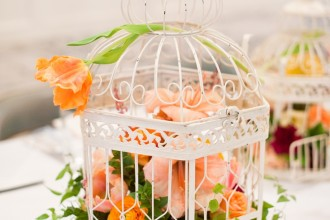 birdcage centerpieces,birdcage bridal shower centerpices