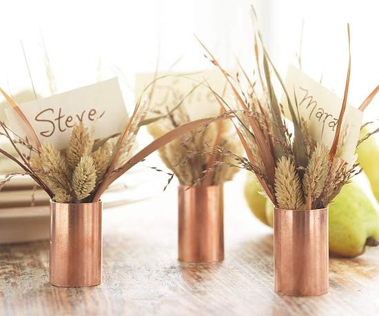 wedding centerpieces as place card