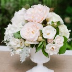 Soft Garden wedding Centerpieces