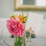 Simple Centerpieces in Mason Jar