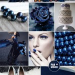 Steel , Grey & Midnight Blue Wedding Colour Palette