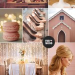 Beige,blush coral wedding colours palette