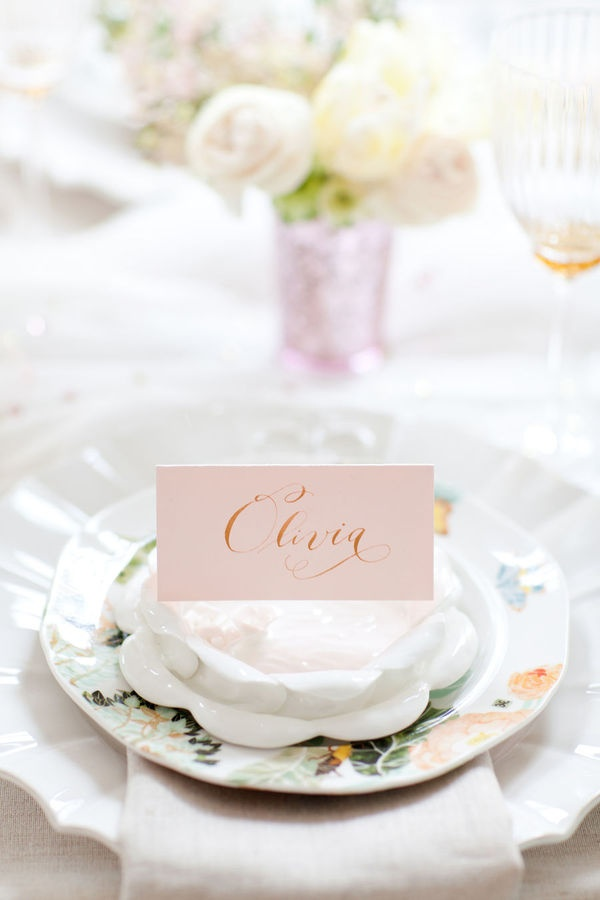 pastel wedding place setting,pretty wedding table setting,wedding reception ideas,wedding reception details