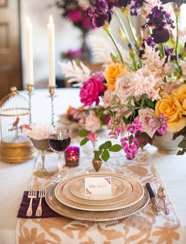Romantic wedding table setting ideas Fab Mood