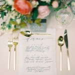 Elegant calligraphy reception menu card,wedding menu card ideas, wedding reception ideas
