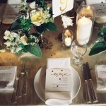 gold white wedding table setting,wedding table setting,wedding reception ideas, wedding place setting, wedding reception details