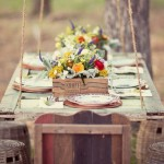 20 Gorgeous Rustic Wedding Table Decoration Ideas
