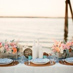 25 Stunning Wedding Reception on The Beach, Beach wedding reception ideas