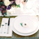 Elegant Ranch Wedding Ideas, wedding place setting, wedding table setting ideas