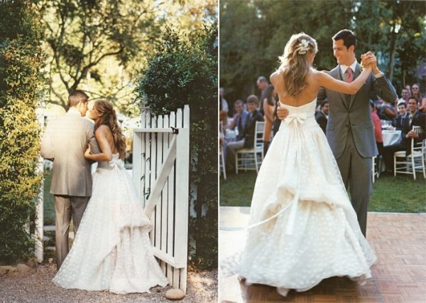 dot wedding dress,swiss dot wedding dress,polka dot wedding gowns