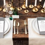 Art Deco Inspired wedding tablescape