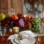 wedding tablescape, wedding table setting