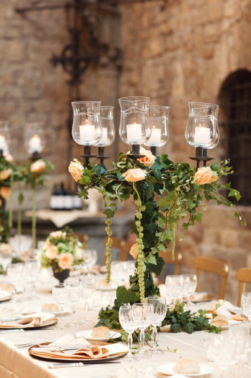 Elegant wedding tablescape - Fab Mood | Wedding Colours, Wedding ...