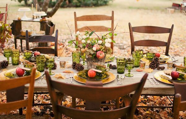 Autumn Wedding Inspirationwedding TablescapeAutumn Tablescapes