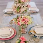 french style wedding table setting,Shabby chic wedding table style