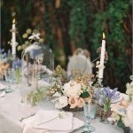 wedding tablescape ideas, wedding table setting ideas,lavender blush tablescapes
