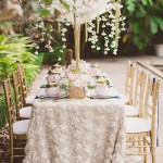 french garden bridal shower