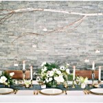 wedding table scape,Whites and greens floral table centerpieces