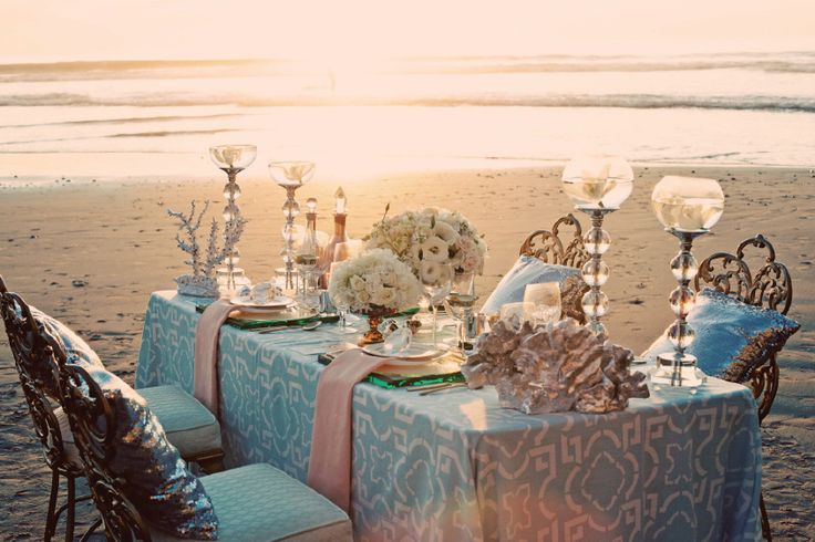 trendy beach wedding reception 1 - Fab Mood | Wedding Colours ...