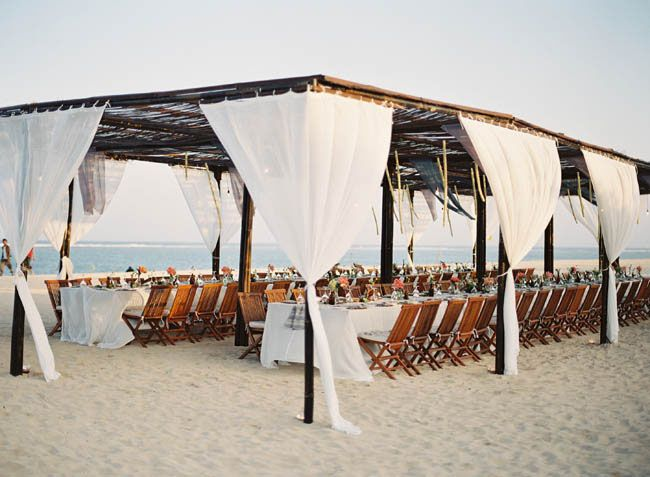 beach wedding reception on the beach ideas 1 - Fab Mood | Wedding ...