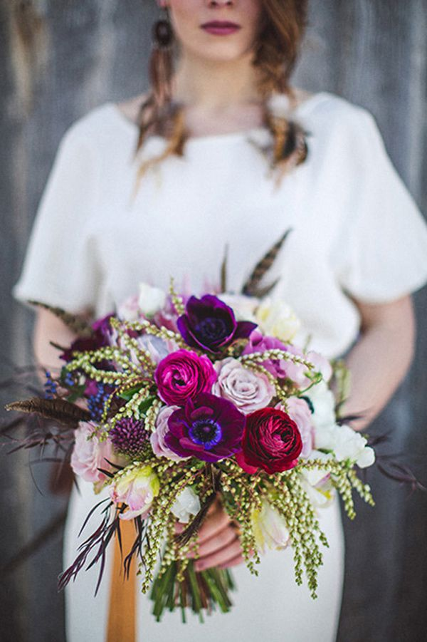 magenta wedding bouquet,purple bouquet,purple bridal bouquet