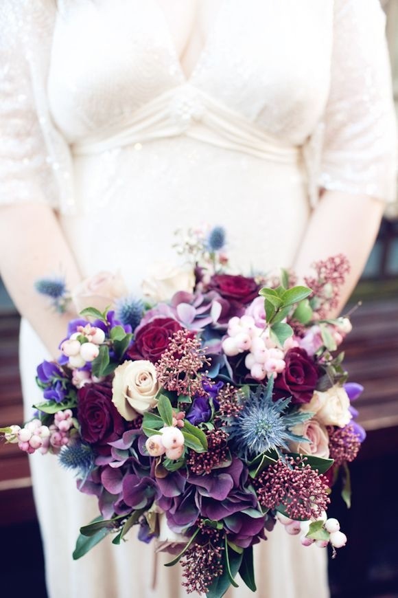 Purple wedding bouquet fab mood wedding colours wedding themes purple wedding bouquet junglespirit Images