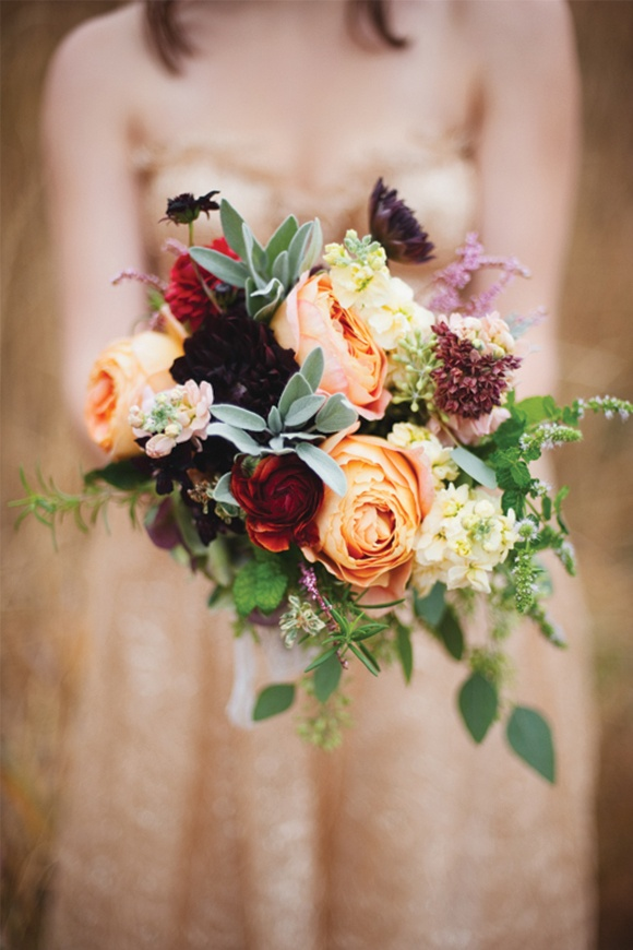 Seasonal Autumn Wedding Flowers Ideas