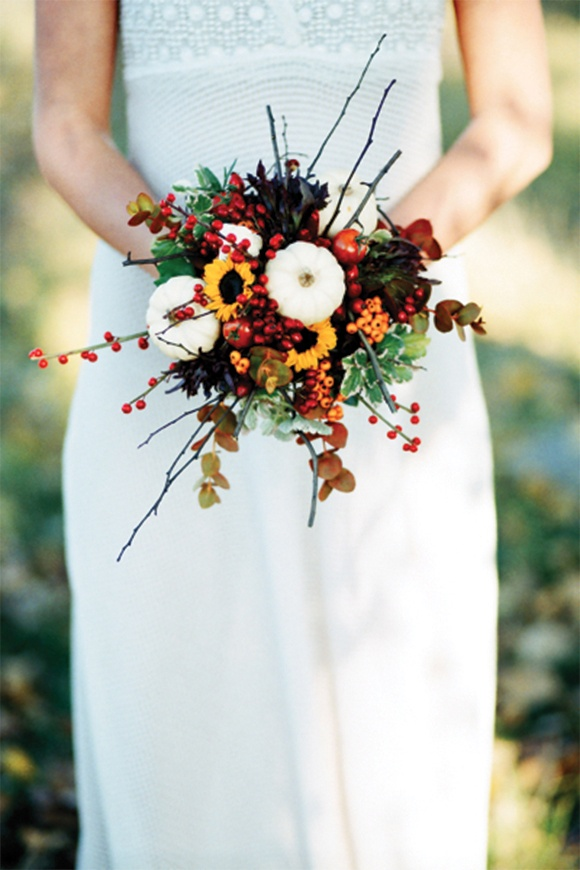 Fall wedding bouquets ideas