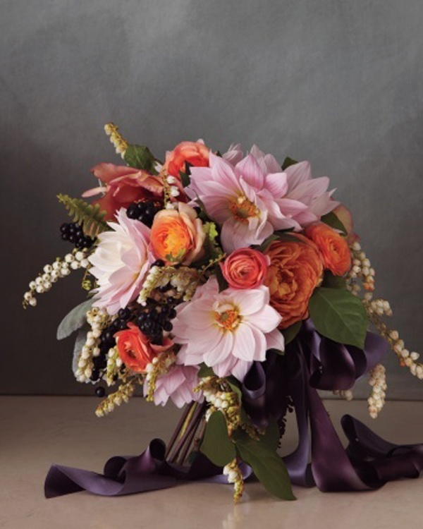 Wedding Flower Bouquets Ideas: Seasonal Autumn Wedding Flowers Ideas