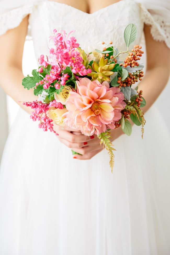 Pink wedding bouquet fab mood wedding colours wedding for Wedding flowers ideas pictures