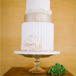 chic wedding cake, simple wedding cake,elegant wedding cake