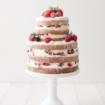 25 naked wedding cakes inspiration