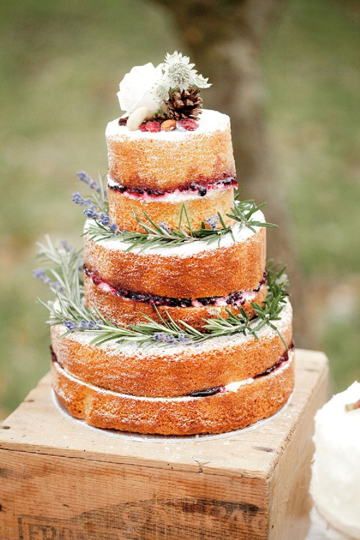 naked wedding cakes ideas 25 rustic naked wedding cakes ideas photos. Black Bedroom Furniture Sets. Home Design Ideas