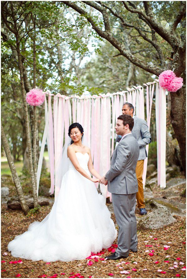 Woodland Wedding Ceremony Fab Mood Wedding Colours Wedding