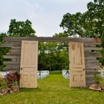 rustic wedding ceremony,outdoor wedding ceremony
