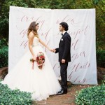 ceremony backdrop idea