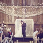 diy backdrop wedding ceremony