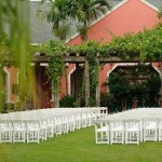 Ceremony set up Botanical Garden