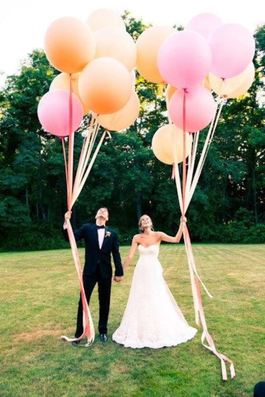 Wedding balloons ideas - Decoration mariage ballon ...