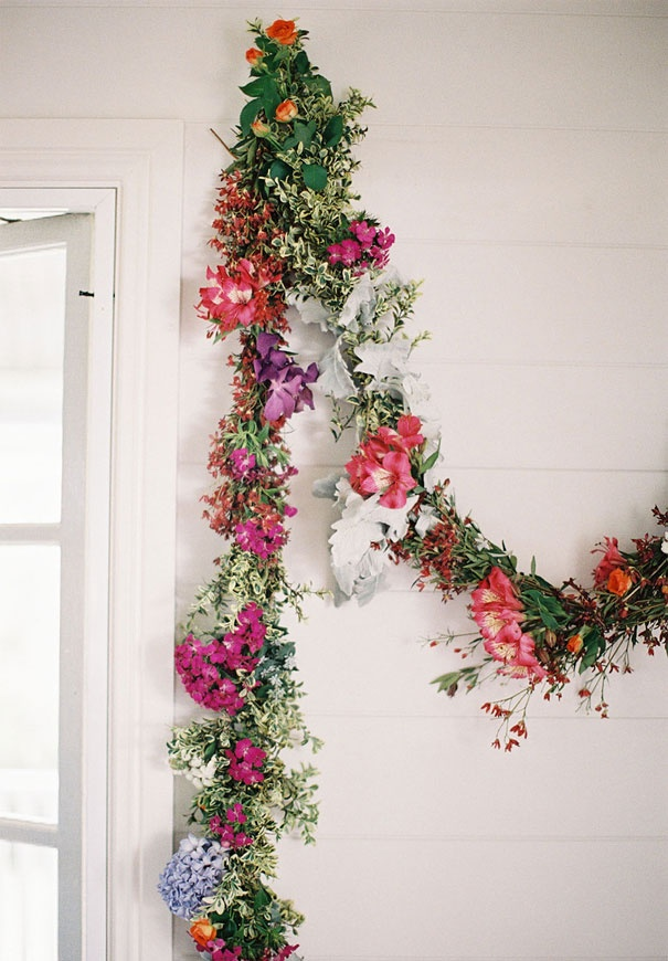 wedding floral garlands