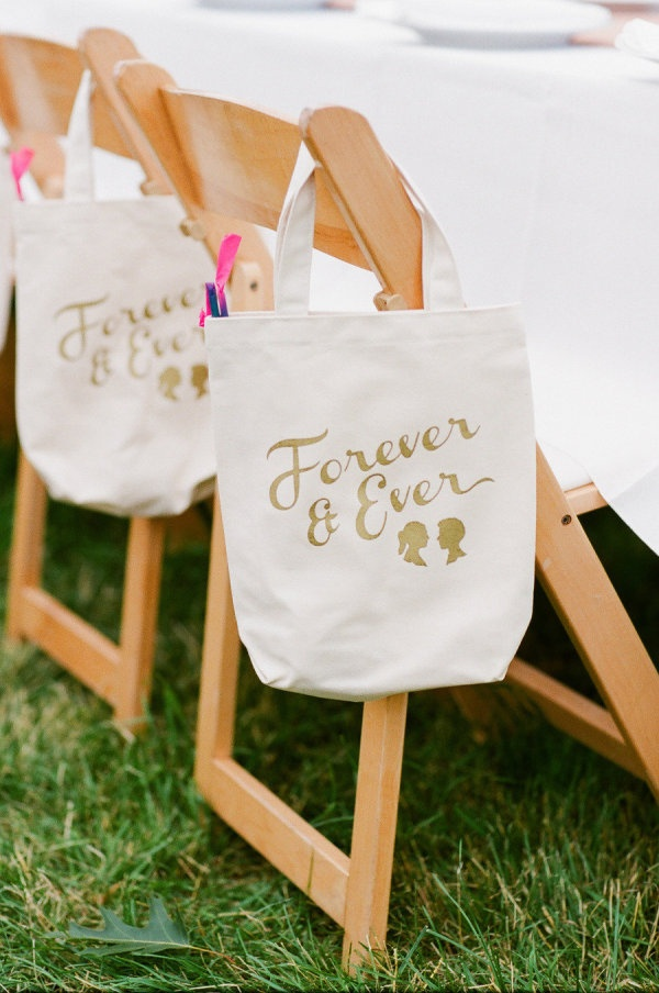 Tote bag wedding favor wedding favors ideas for Wedding favor supplies