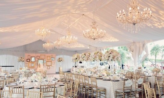 Tent Wedding Receptions