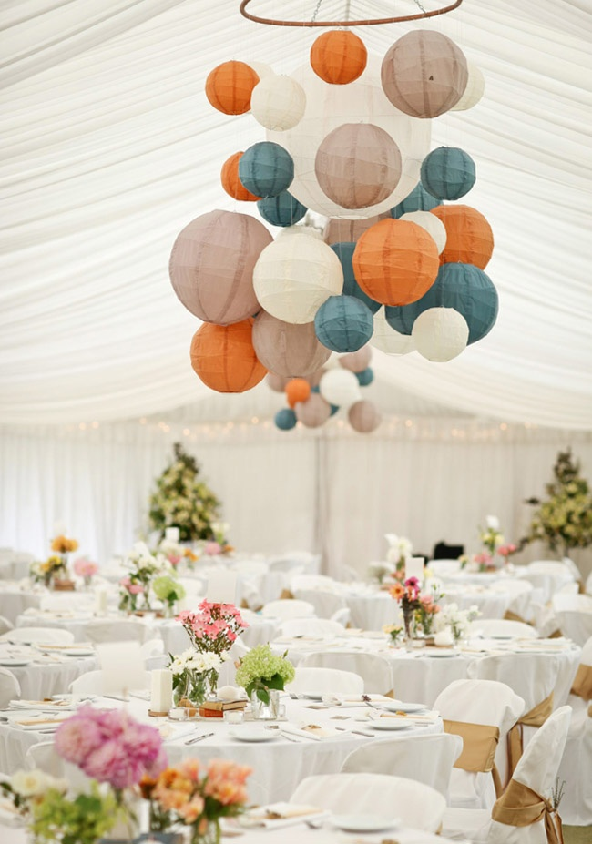 Lantern Wedding Reception Ideas