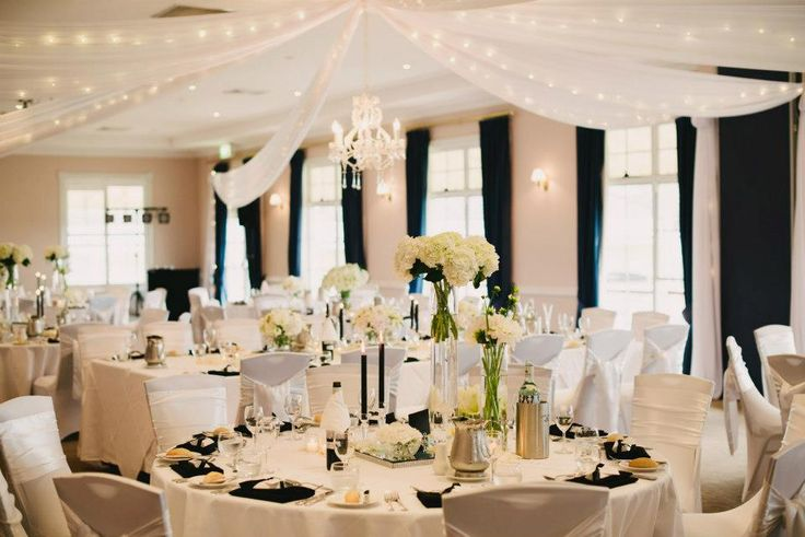 Black Amp White Wedding Reception Fab Mood Wedding