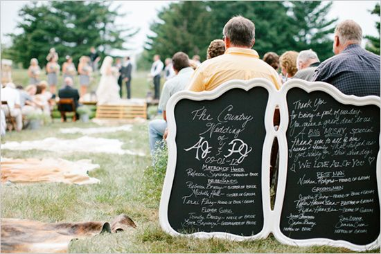 Chalkboard Wedding Sign Wood Signs Signage Diy