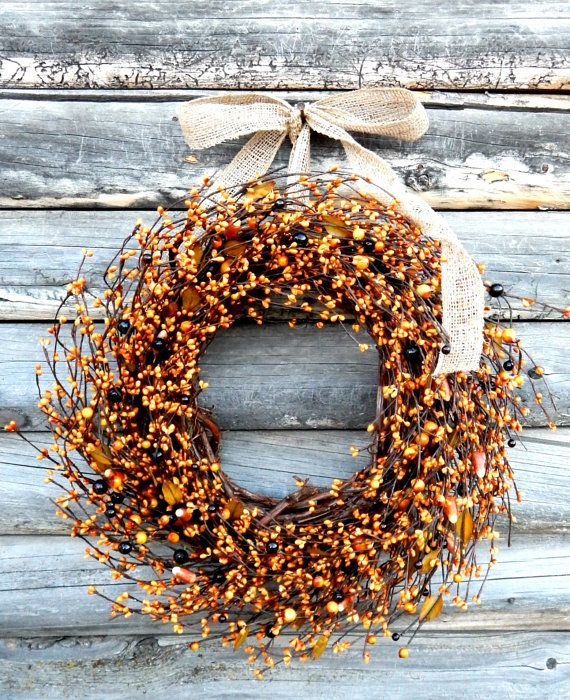 autumn fall wreath,autumn wreath wedding decoration ideas