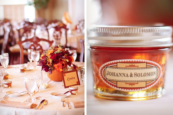 autumn wedding centerpieces,autumn wedding favors