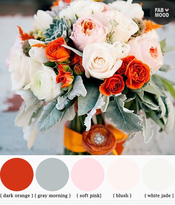 Wedding Color Ideas Summer: Autumn Wedding Bouquets Ideas, Fall Wedding Bouquet Colors
