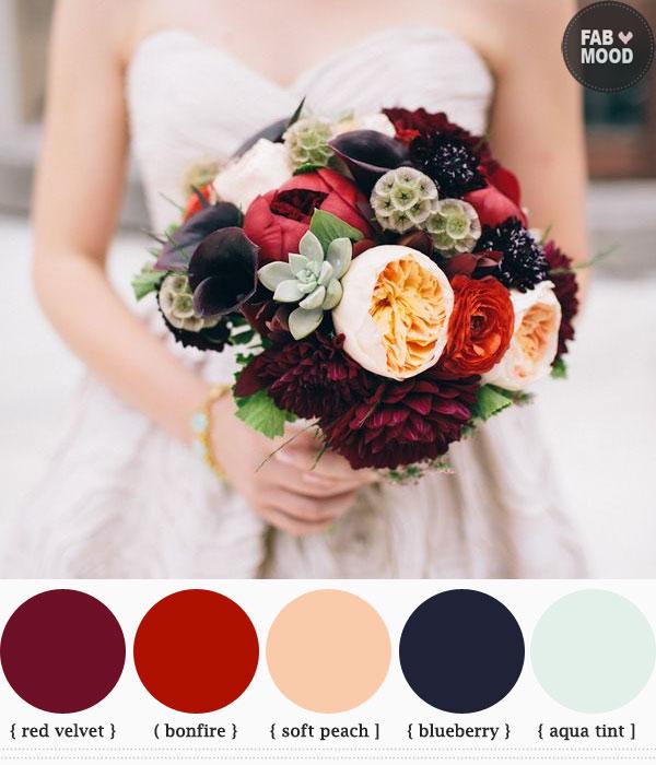 autumn wedding bouquets ideas 1 - Fab Mood | Wedding Colours ...